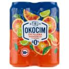 OKOCIM RADLER Piwo bezalkoholowe Pomarańcza sycylijska 4x500ml 2l
