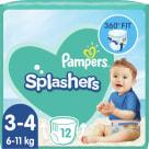 PAMPERS Splashers Jednorazowe pieluchy do pływania Rozmiar 3 12 szt. 1szt