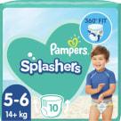 PAMPERS Splashers Jednorazowe pieluchy do pływania Rozmiar 5-6 10 szt. 1szt