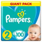 PAMPERS Active Baby Pieluchy Rozmiar 2 (4-8kg) 100 szt. 1szt