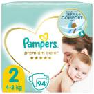 PAMPERS Premium Care Pieluchy Rozmiar 2 Mini (4-8kg) 94 szt. 1szt