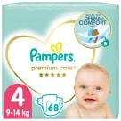 PAMPERS Premium Care Pieluchy Rozmiar 4 Maxi (9-14kg) 68 szt. 1szt