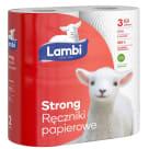 LAMBI Ręcznik papierowy kuchenny Strong 2 rolki 1szt
