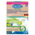 DR.BECKMANN Ekologiczne chusteczki wyłapujące kolor i wspomagające usuwanie brudu 20 szt. 1szt