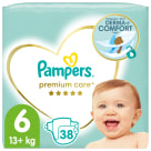 PAMPERS Premium Care Pieluchy Rozmiar 6 (13kg+) 38szt 1szt