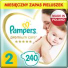 PAMPERS Premium Care Pieluchy Rozmiar 2 Mini (4-8kg) 240 szt 1szt