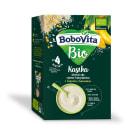 BOBOVITA BIO Kaszka bezmleczna ryżowo-kukurydziana z tapioką i bananem dla niemowląt po 8 miesiącu 200g
