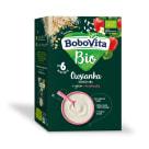 BOBOVITA BIO Owsianka bezmleczna z ryżem i truskawką dla niemowląt po 6 miesiącu 200g