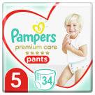 PAMPERS Premium Care Pieluchy Rozmiar 5 (12-17kg) 34 szt. 1szt