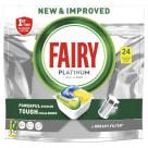 FAIRY PLATINUM All In One Tabletki do zmywarki cytrynowe 24 szt 1szt