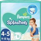 PAMPERS Splashers Jednorazowe pieluchy do pływania Rozmiar 4-5 11 szt. 1szt