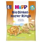HIPP Kółeczka orkiszowo-owsiane BIO - po 8 miesiącu 30g