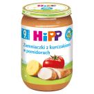 HIPP JUNIOR Ziemniaki z kurczakiem w pomidorach BIO - po 7 miesiącu 220g