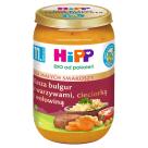 HIPP Kasza bulgur z warzywami, cieciorką i wołowiną po 11 m-cu BIO 220g