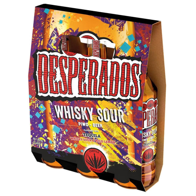 Desperados Whisky Sour Piwo W Butelce 3x400ml 1 2 L Cena 12 99 Zl Frisco Pl