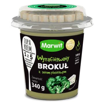 MARWIT Zupa krem wyrafinowany brokuł z serem pleśniowym 340g