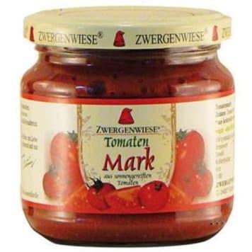 Koncentrat pomidorowy 22% BIO - Zwergenwiese. Naturalny koncentrat, doskonały do zup i pizzy.