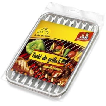 JAN NIEZBĘDNY Tacki do grilla (małe) 3 szt. 1szt