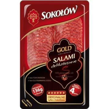 Salami delikatesowe - Sokołów Gold