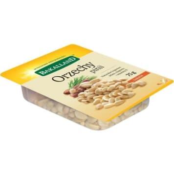 Orzechy pinii – Bakaland zwane piniolami, charakteryzują się łagodnym smakiem i sosnowym aromatem.