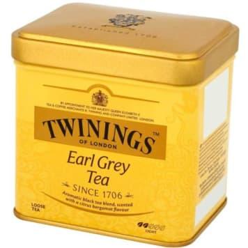 Herbata liściasta Earl Grey - Twinings. Smaczny i orzeźwiający napój.