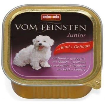 Pokarm dla psa - Wołowina + drób 150g – Animonda. Smaczny i pełnowartościowy posiłek.
