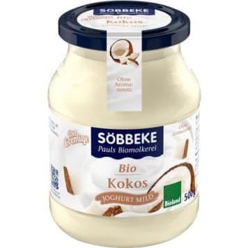 Jogurt kokosowy - Sobbeke. Naturalny, kokosowy smak.