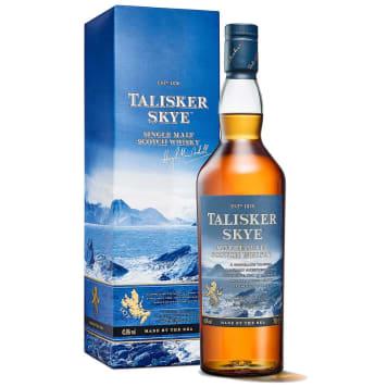 Szkocka whisky - Isle of Skye  - Talisker to wspaniała wyspowa whisky z jęczmienia z nutą torfu.