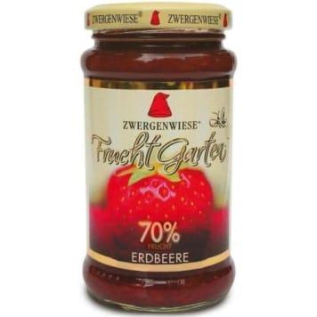 ZWERGENWIESE Konfitura truskawkowa 70% BIO 225g