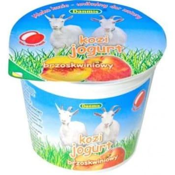Jogurt kozi o smaku brzoskwiniowym-Danmis to źódło cennego białka.