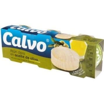 Tuńczyk w oliwie z oliwek 240g - Calvo