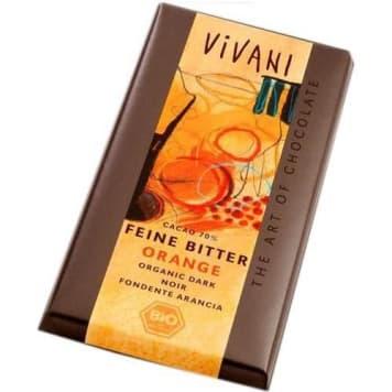 Czekolada gorzka z pomarańczą - Vivani. To bogactwo smaku i cennych minerałów.