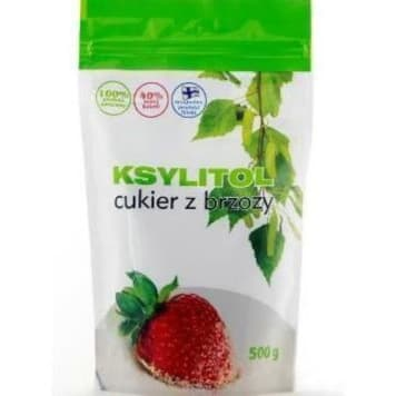 Cukier z brzozy 500g - Ksylitol