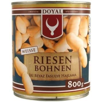 Fasola maślana w zalewie solnej DOYAL 800g. Doskonałe w smaku warzywo, zawsze pysznie smakuje.