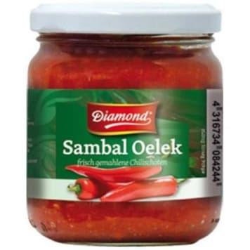 Sos Sambal Oelek – Diamond to bardzo ostra i gęsta przyprawa w formie gęstego sosu.