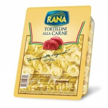 Świeże Tortellini z mięsem Rana to najwyższej jakości pierożki z mięsem wieprzowym