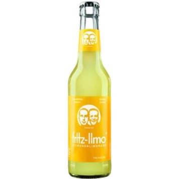 Lemoniada gazowana cytrynowa 330ml - Fritz Limo. Pyszny, orzeźwiający napój.