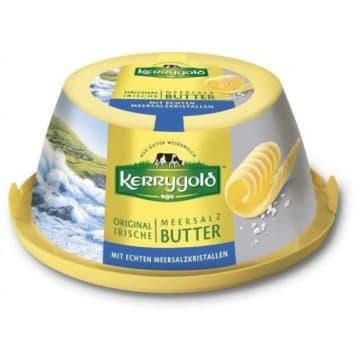KERRYGOLD Tradycyjne irlandzkie masło z kryształkami soli 150g