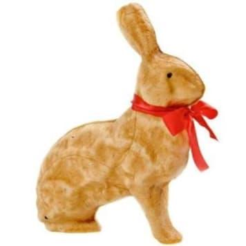 Putka - Zajączek Wielkanocny znajdzie swoje miejsce w koszyczku i na stole świątecznym.