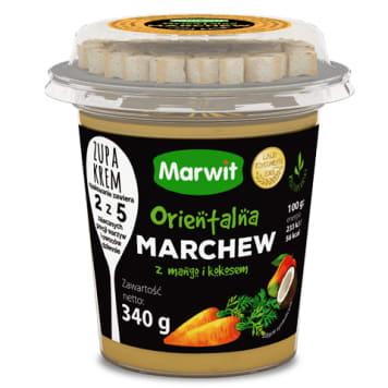 MARWIT Zupa krem orientalna marchew z mango i kokosem 340g