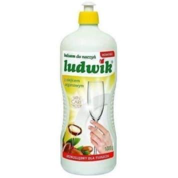 Ludwik - Balsam do naczyń z olejkiem arganowym. Dokładnie czyści i nadaje naczyniom połysk.