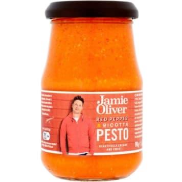 Pesto z papryką czerwoną i serem ricotta 190g - Jamie Oliver