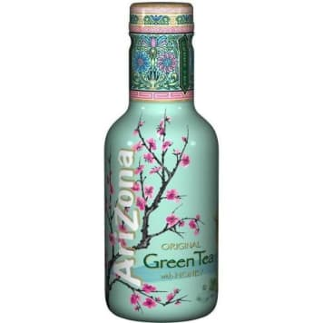 ARIZONA Napój Green Tea z żeń szeniem i miodem, PET 500 ml