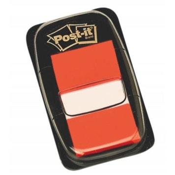 Post-It - Pomarańczowe zakładki indeksujące 50 szt. To pomysł na oznaczenie ważnych informacji.