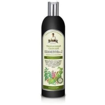 Syberyjski  szampon do włosów, 550 ml - Agafii. Specjalna formuła wzmacniająca włosy.