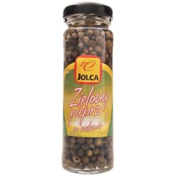Zielony pieprz w zalewie – Jolca to marynowany pieprz o wyrazistym aromacie.