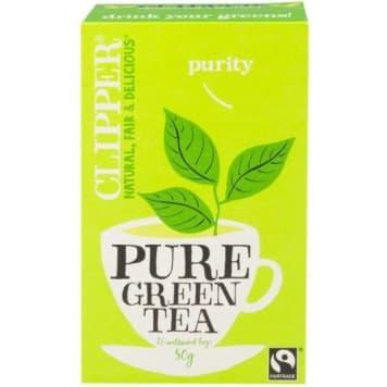 Zielona herbata 25 torebek - Clipper