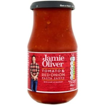Sos pomidorowy rozmaryn cebula JAMIE OLIVER 400g - umożliwia łatwe i szybkie wykonanie posiłku.