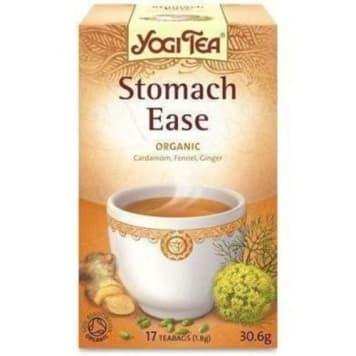 Herbata na trawienie - Yogi Tea. Ekologiczna herbata nie tylko dla osób z problemami trawiennymi.