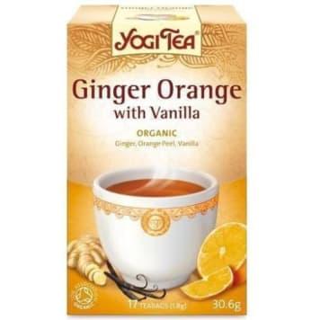 Herbata imbirowo-pomarańczowa z wanilią - Yogi Tea